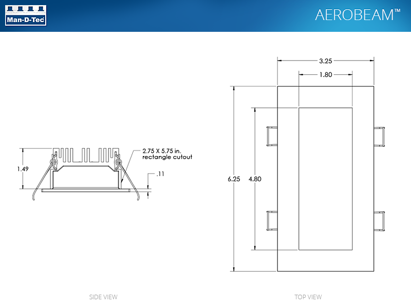 aerobeam top side products man d tec Basic Electrical Wiring Diagrams at n-0.co